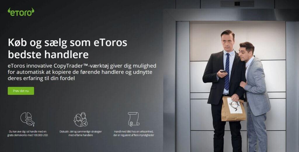 Handel som de bedste social tradere hos eToro