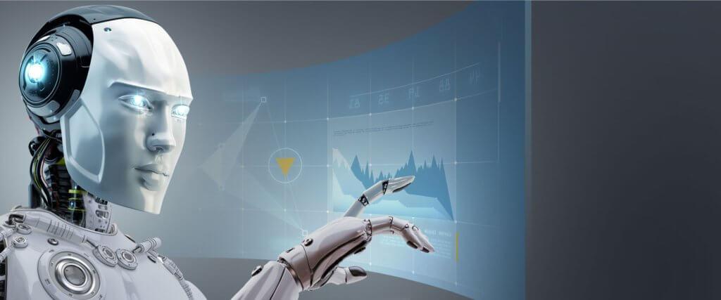 Forex trading med en robot, bot, software
