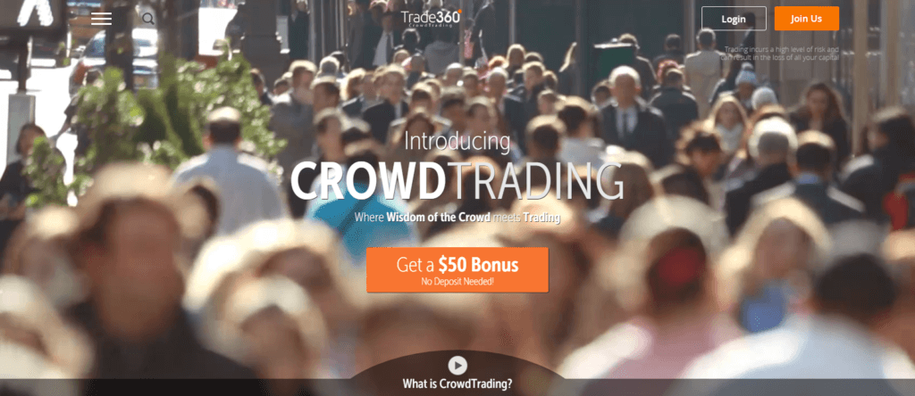 Trade360.com website bonus